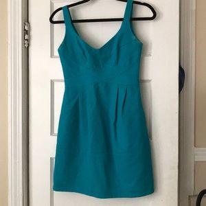 Nanette Lenore Turquoise Bustier Dress Size 0